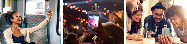iPhoneに接続できる360度ビデオカメラ
