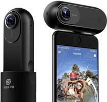 4K・2400万画素対応の高画質360度カメラ