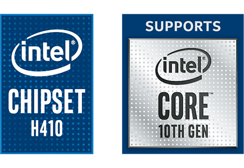 Intel H410チップセットを搭載