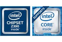 Intel Z390チップセットを搭載