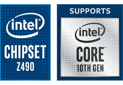 Intel Z490チップセットを搭載