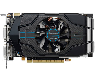 NVIDIA GeForce GTX 550 Ti GPUを搭載
