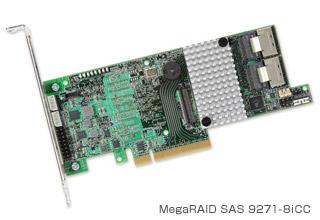 MegaRAID SAS 9271-8iCC 製品画像