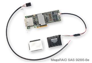 MegaRAID SAS 9286CV-8e 製品画像