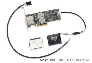 MegaRAID SAS 9286CV-8eCC 製品画像
