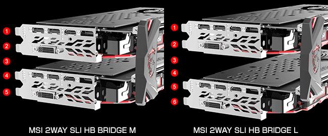 MSI GeForce GTX 10/900シリーズに対応