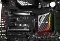 1680万色の発色をサポートするRGB LEDを装備