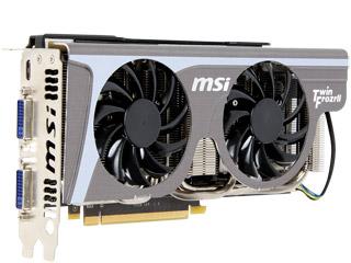 MSI独自の強力GPUクーラー「Twin Frozr II」