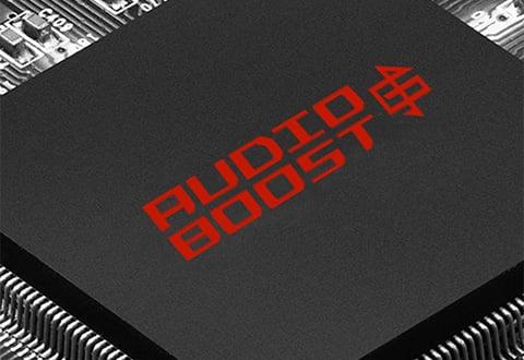 没入感のあるサウンド体験を実現する「Audio Boost 4」