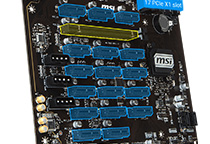 PCI Express 3.0スロットを7基搭載