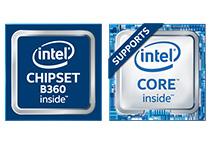 Intel B360チップセットを搭載