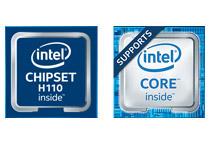 Intel H110 Expressを搭載
