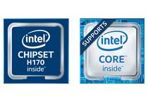 Intel H170 Expressを搭載