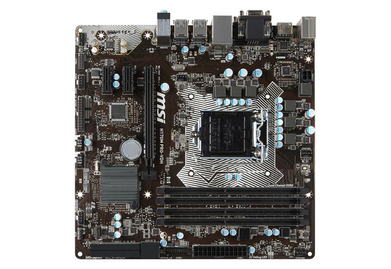 H170M PRO-VDH | MSI マザーボード Intel H170チップセット | 株式会社アスク
