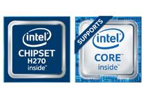 Intel H270チップセットを搭載