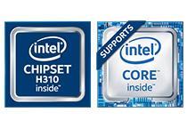 Intel H310チップセットを搭載