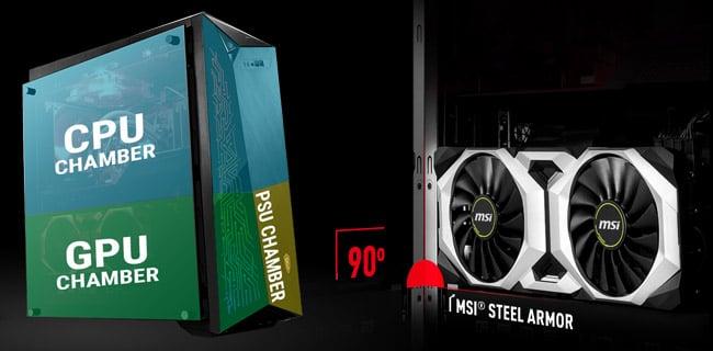 独自冷却システム「Silent Storm Cooling 3 Pro」搭載
