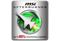 MSI独自のユーティリティツール「アフターバーナー」