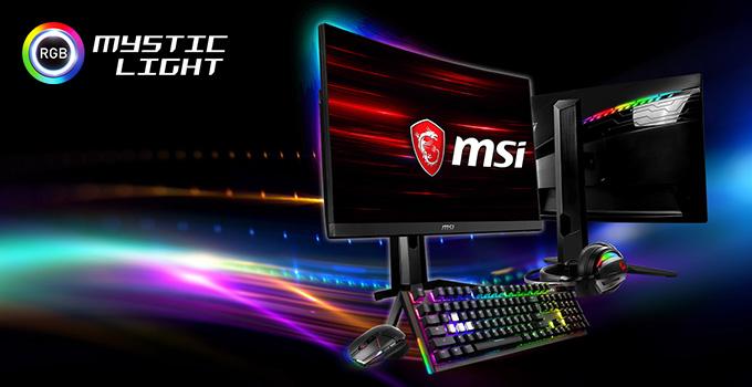 「Mystic Light」対応のRGB LEDを搭載