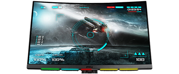 SteelSeries GameSense対応のRGB LEDを搭載