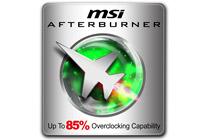 MSI独自ツール「アフターバーナー」をサポート