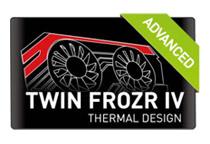 MSIオリジナルファン「Twin Frozr IV Advanced」を採用