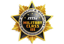 高品質部品を採用する「ミリタリークラスIII」準拠