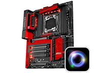 2,000色以上の色彩をサポートするRGB LEDを装備