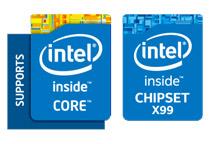 Intel X99 Expressを搭載