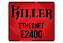 ゲームで威力を発揮するLANチップ「Killer E2400」搭載