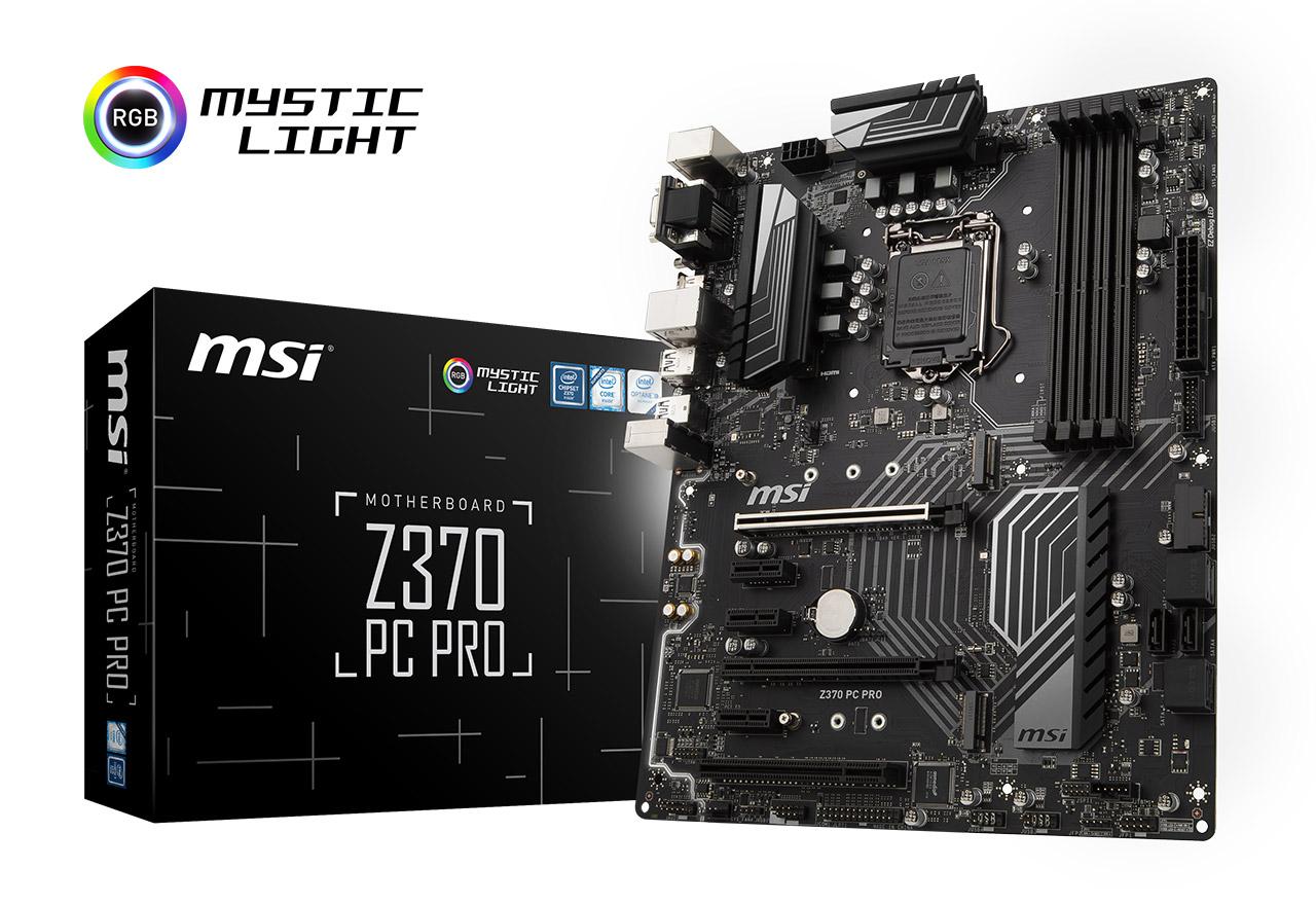 Z370 PC PRO | MSI マザーボード...