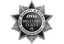 高品質部品を採用する「ミリタリークラス4」準拠