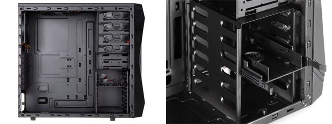 メンテナンス性に優れたミドルタワー型PCケース