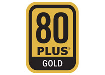 80PLUS GOLDに対応