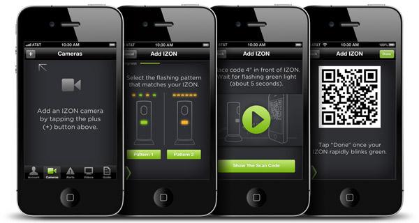 iOS専用の無料アプリ「IZON」