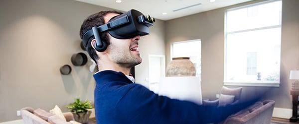 VRヘッドマウントディスプレイでシームレスなAR体験を実現