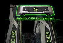 PCI Express 3.0 x16スロットを3基搭載