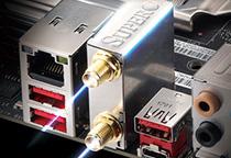 優れたパフォーマンスを実現するIntel LANを搭載