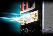 Aquantia 10ギガビットLANとIntel LANを装備