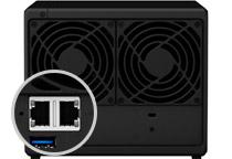 フェイルオーバー及びLink Aggregationをサポート