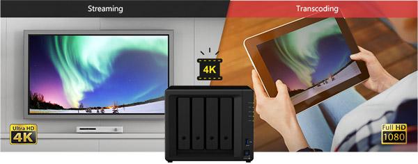 4K Ultra HDに対応したビデオコード変換機能