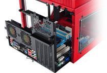 microATX、Mini-ITXマザーボードに対応