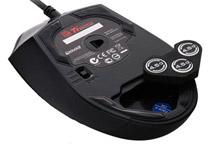 好みに応じてマウスの重さを調整可能