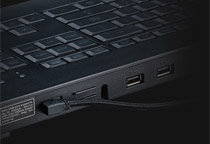 USBハブポートを装備