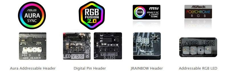 マザーボードLEDと同期可能なアドレサブルRGBファンを搭載