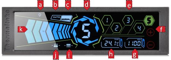 ファン回転数検知機能と温度センサーを搭載