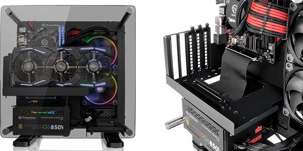 最大280mmまでの拡張カード搭載スペースを確保