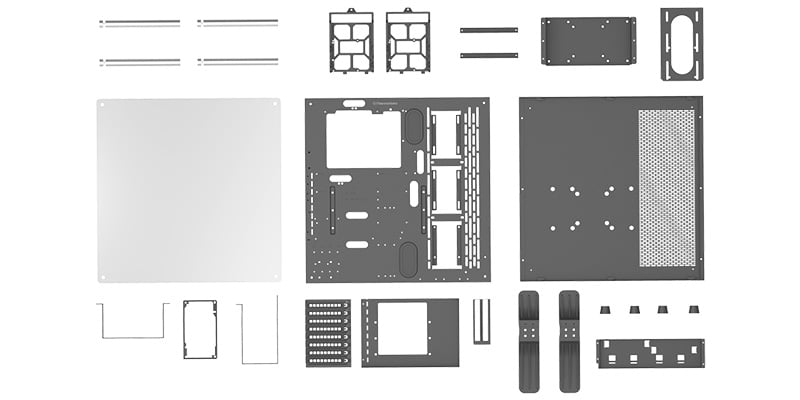 ケース本体をDIY可能な「Dismantlable Modular Design」