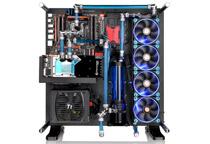 最大480mmの水冷ラジエータを搭載可能