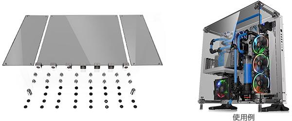 Core P5用 アップグレードキット 3面強化ガラス